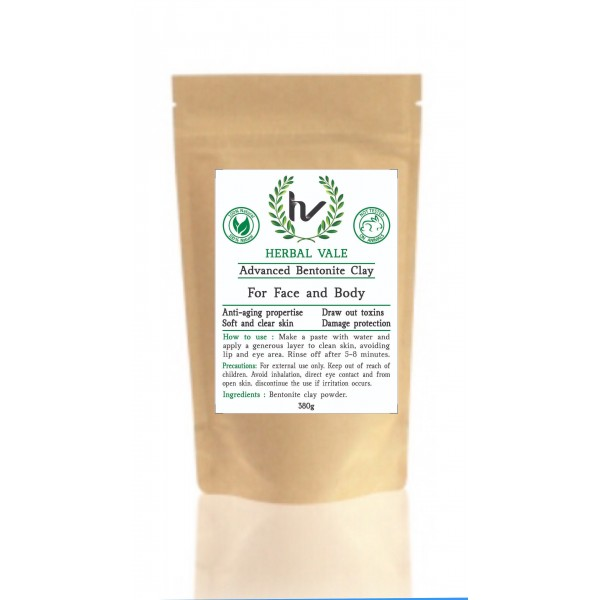 HERBAL  VALE ADVANCED BENTONITE CLAY